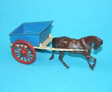 BRITAINS LEAD FARM No. 40F FARM CART & HORSE 1950s ENGLAND