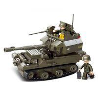 SLUBAN Bausteine ARMY Armee Panzer Kampfpanzer 178 Teile NEU B0282