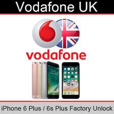 Vodafone UK iPhone 6 Plus / 6s Plus Factory Unlocking Service