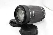 USED Canon Telephoto Zoom Lens EF-S55-250mm F4-5.6 IS STM APS-C EF-S55-250ISSTM