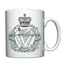 The Royal Irish Regiment crest Personalised Mug / Cup *