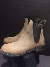Rag & Bone Distressed Brown/Loden  Leather Bootie Size 37 NWOB