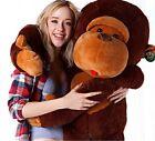 Cushions Plush Monkey Giant Cartoon Anime Stuffed Animal Soft Doll Toy Kids Gift