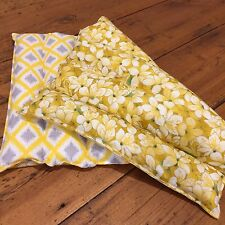50cm x 30cm 1kg Weighted Therapy Lap Blanket, Autism, ADHD, Calming, Yellow