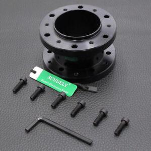 50mm Black boss hub kit spacer fit Universal OMP aftermarket steering wheel