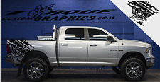 RAM-TOUGH-Bed Graphics-Vinyl Decal Sets for Dodge, Ram,Vehicles, Custom Graphics
