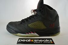 Nike Air Jordan 5 Retro DMP Raging Bull 3M 2009 Size 9 136027-061 8/10 cond