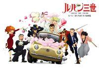 Futabasha Lupin The 3rd PARTIV Genga. Collection Japan Anime Book