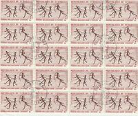Rep. Du Tchad Dancing Ants Stamps Decoupage Crafts or Collect Ref 28357