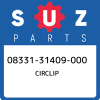 08331-31409-000 Suzuki Circlip 0833131409000, New Genuine OEM Part