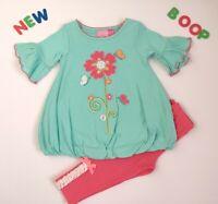 Toddler Kids Baby Girls Clothes 18M - 24M NWT GoodLad Flower Hot pink Leggings