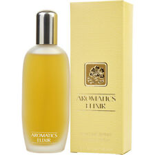 Women AROMATICS ELIXIR Clinique 3.4 Oz Perfume Spray New Sealed Box