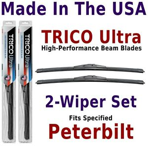 Buy American: TRICO Ultra 2-Wiper Blade Set fits listed Peterbilt: 13-18-18