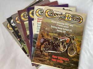 Classic Bike Magazine Collection x7 magazines 1970/1980
