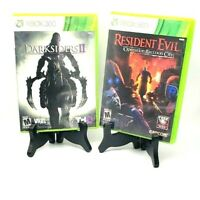 Resident Evil Operation Raccoon City + Darksiders II Xbox 360 Complete Tested