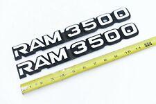 Dodge Ram 3500 Emblems Van Truck Pickup 1 Ton 92 93 94 95 96 97 98 99 00 01 02