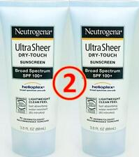 neutrogena (2 pack) SPF 100 + ULTRA SHEER dry-touch sunscreen