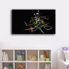 60×100×3cm Graffiti Art Canvas Prints Framed Wall Art Home Decor Painting VIII