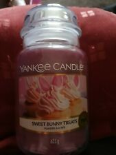 Yankee candle 'Sweet Bunny Treats' large Limited Edition candle