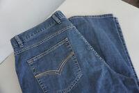 Bugatti Damen Jeans stretch Hose 38/32 W38 L32 stonewashed dünn blau #74