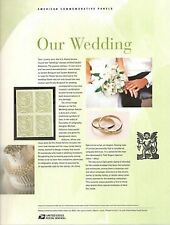 #3999 63c Our Wedding Dove Stamp USPS #759 Commemorative Stamp Panel