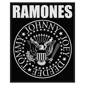"""RAMONES - """"CLASSIC LOGO"""" - WOVEN SEW ON PATCH"""