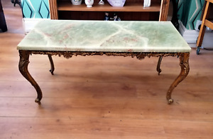 Antique French Style marble top effect table  Ref 2670
