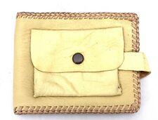 Vintage Deerskin Leather Wallet Mens Classic Design 1950s Sofft Supple
