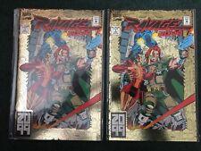 RAVAGE 2099 #1 (2 copies) VF/NM Marvel 1992, Stan Lee, Paul Ryan, Gold Foil