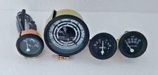 Ford Tractor 600,700,800,900,1800,2000,4000 Series Tacho + Gauge Kit-Black Bezel