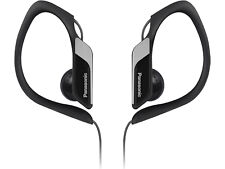Panasonic RP-HS34E In-Ear Sports Wired Headphones - Black