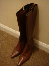 Clarks Brand new ladies smart brown leather boots size 6