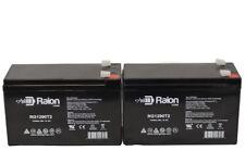 Raion 2 Pack RG1290T2- 12V 9Ah BATTERY APC BACK-UPS XS1500 RBC109 PS-1290