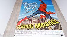 L'HOMME ARAIGNEE spider-man ! affiche cinema super-heros comics bd  1977 marvel