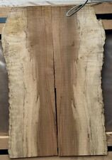 """Spalted Curly Maple 🍁 1/4"""" x 6.75""""x 20"""" Figured bookmatch guitar 🎸 Top set"""