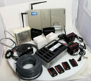Drive Thru Intercom HME Base6000 +COM6000 +Headsets Speaker Mic Battery Charger
