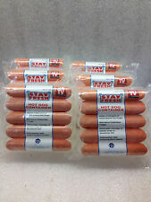 6  Hot Dog Keeper ~ Fridge Food Storage Container Refrigerator Carton Box Case
