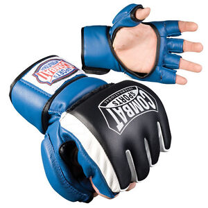 Combat Sports Extreme Safety MMA Sparring Training Gloves - Blue