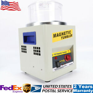 2000rpm Magnetic Tumbler Jewelry Polisher Finisher Grinding Polishing Machine