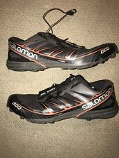Salomon S/LAB Speed Trail Running Shoes, Men's 10 Black