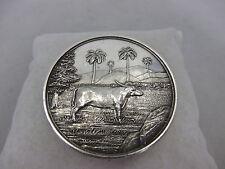 Colombo Agri-Horticultural Society 1899 Medaille RAR 53,3g