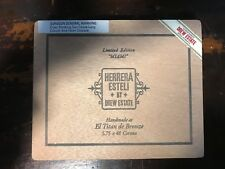 "DREW ESTATE HERRERA ESTELI ""Limited Edition Miami"" WOOD CIGAR BOX"