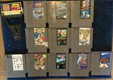 Nintendo NES Lot Of 12 Games. GAME GENIE, SUPER MARIO Etc. AUTHENTIC • TESTED