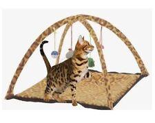 Butterfly Pet Attività Gatto che gioca tenda Bed Pad Mat con giocattoli sospesi