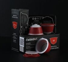 CAPSULES FOR DOLCE GUSTO RECHARGEABLE REFILLABLE REUSABLE COFFEE EMOHOME