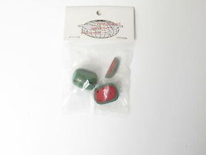 IDM Dollhouse Miniature 1:12 Scale *Fruit Watermelon* Kitchen Friut Red Green