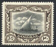 Zanzibar 1913 30r MINT NH SG 260c Cat £400