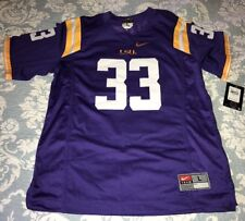LSU Tigers Football Jersey Stitched On Nike Youth Large NWT