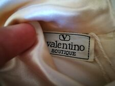 1980's Valentino Boutique Silk Cocktail Dress Size 8