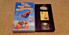 Bedknobs And Broomsticks WALT DISNEY UK PAL VHS VIDEO 1990 Angela Lansbury